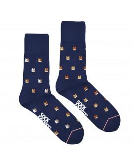 Chaussettes Socksocket mixtes dépareillées motif chats
