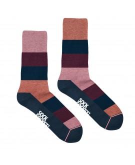 Chaussettes socksocket mixtes dépareillées Roméo