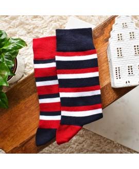Chaussettes socksocket mixtes dépareillées Jacques